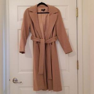 BCBG Maxazria Tan Coat - Size 8